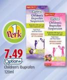 Option+ Children's Ibuprofen 120ml