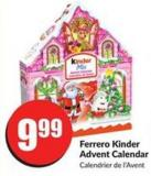 Ferrero Kinder Advent Calendar