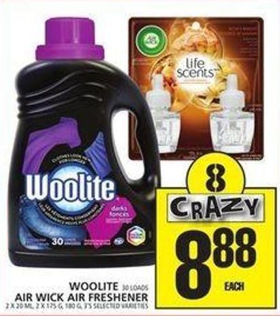 Woolite Or Air Wick Air Freshener