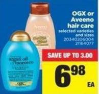 Ogx Or Aveeno Hair Care