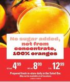 Not From Concentrate Oranges 100% Juice - 1.5 L