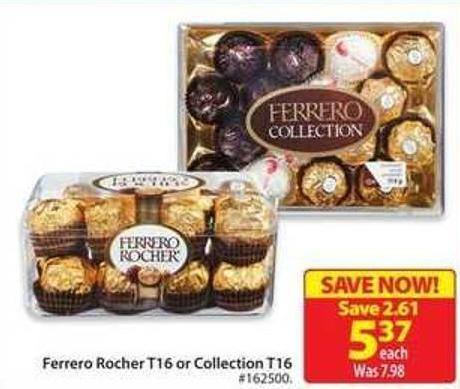 Ferrero Rocher T16 or Collection T16