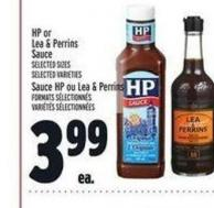HP Or Lea & Perrins Sauce Sauce | HP Ou Lea & Perrins Formats