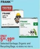 Selected Garbage - Organic and Recycling Bags Frank