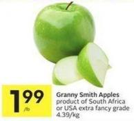 Granny Smith Apples Product of South Africa or USA Extra Fancy Grade