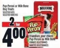 Pup‑peroni Or Milk‑bone Dog Treats