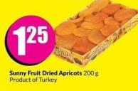 Sunny Fruit Dried Apricots 200 g