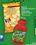Mott's Garden Cocktail Or Selection Potato Chips
