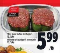 Store Made Stuffed Bell Peppers