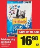Friskies Dry Cat Food - 7.26/7.5 Kg