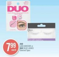 Duo Lash Adhesive or Quo False Lashes