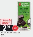 PC  Dark Chocolate And Sea Salt - 100 G