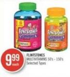 Flintstones Multivitamins 50's - 150's