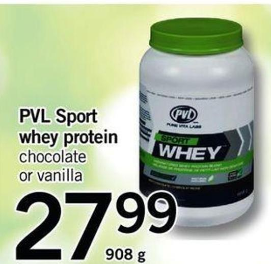 Pvl Sport Whey Protein - 908 G