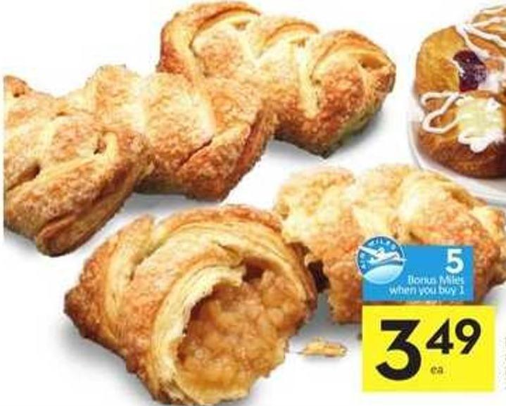 Braided Strudel - 5 Air Miles Bonus Miles