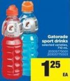 Gatorade Sport Drinks - 710 mL