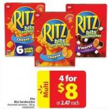 Close Ritz Bits Sandwiches
