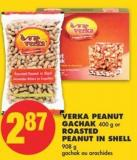Verka Peanut Gachak - 400 g or Roasted Peanut In Shell - 908 g