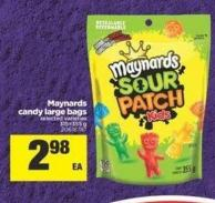 Maynards Candy Large Bags - 315=355 g