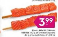 Fresh Atlantic Salmon Kabobs