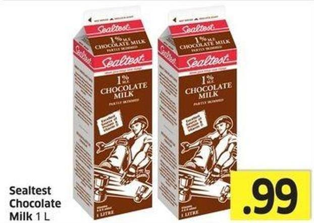 Sealtest Chocolate Milk 1 L