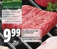 New Zealand Spring Lamb Lean Ground Lamb