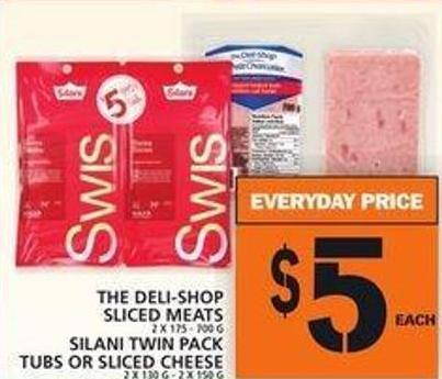 The Deli-shop Sliced Meats Or Silani Twin Pack Tubs Or Sliced Cheese