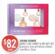 Ariana Grande Sweet Like Candy & Ari Gift Set
