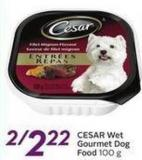 Cesar Wet Gourmet Dog Food 100 g