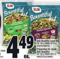 Dole Bountiful Salad Kits 238 - 283 g