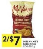 Miss Vickie's Kettle Chips 200-220 g