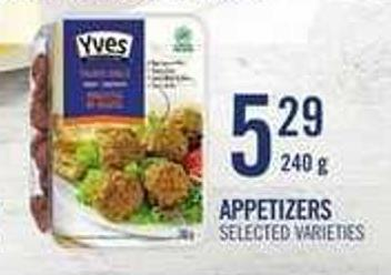 Appetizers - 240 g