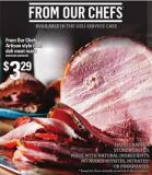 From Our Chefs Artisan Style Ham Deli Meat Roast