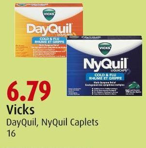 Vicks Dayquil - Nyquil Caplets 16