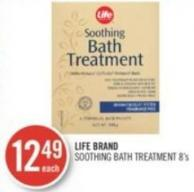 Life Brand Soothing Bath Treatment 8's