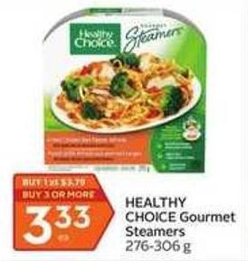 Healthy Choice Gourmet Steamers