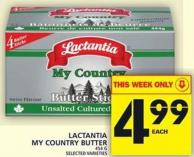 Lactantia My Country Butter