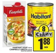 Habitant Soup Or Campbell's Broth