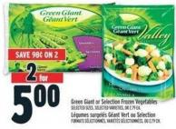 Green Giant Or Selection Frozen Vegetables