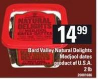 Bard Valley Natural Delights Medjool Dates - 2 Lb