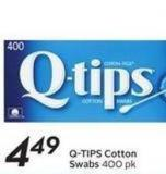 Q-tips Cotton Swabs 400 Pk