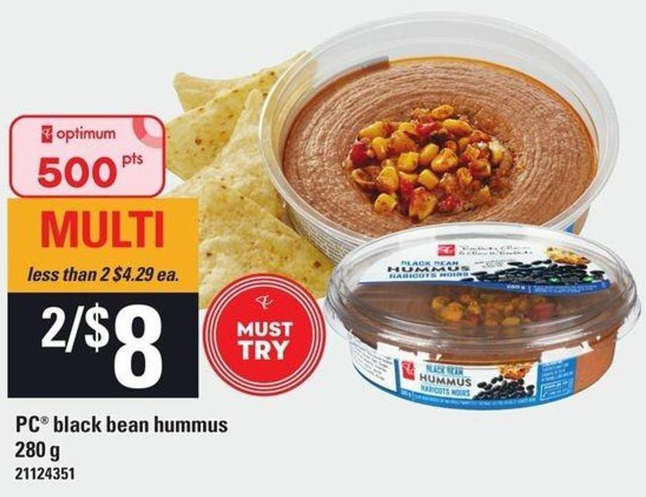 PC Black Bean Hummus