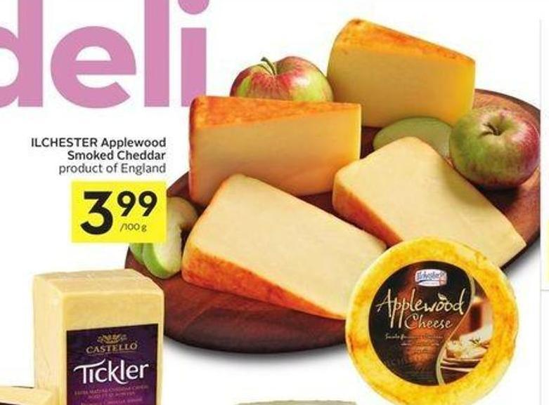 Ilchester Applewood Smoked Cheddar