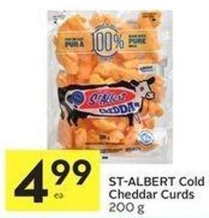 St-albert Cold Cheddar Curds 200 g