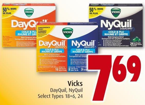 Vicks Dayquil - Nyquil
