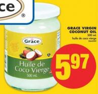 Grace Virgin Coconut Oil - 500 mL