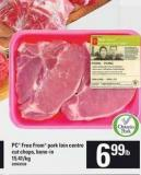 PC Free From Pork Loin Centre Cut Chops