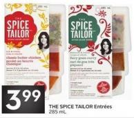 The Spice Tailor Entrées 285 mL