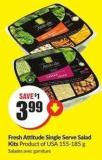 Fresh Attitude Single Serve Salad Kits