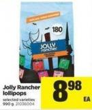 Jolly Rancher Lollipops - 990 G
